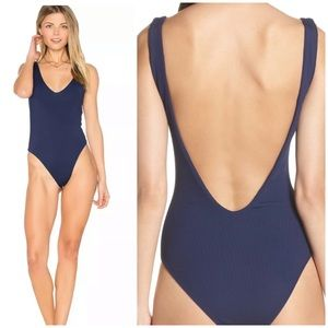 NEW L* Space Arizona ribbed one piece swimsuit